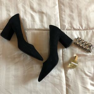 NWOT Royals Suede Block Heel Pump